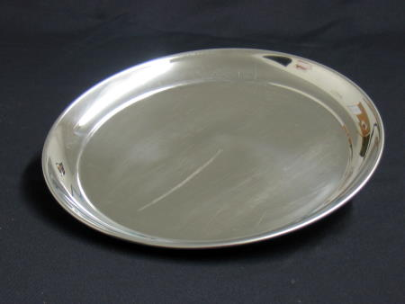 TRAY - STAINLESS 12in ROUND