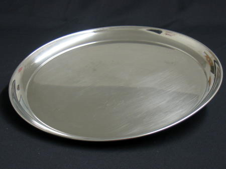 TRAY - STAINLESS 16in ROUND