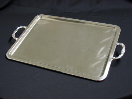 TRAY - STAINLESS 16x22 W HANDLES