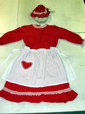 MRS SANTA CLAUS COSTUME - ADULT