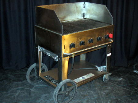 PROPANE BBQ - 3' W GRILL OR GRIDDLE