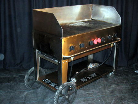 PROPANE BBQ - 4' W GRILL OR GRIDDLE