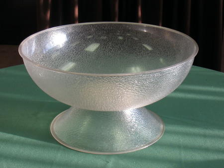 PUNCH BOWL 18in PEDESTAL