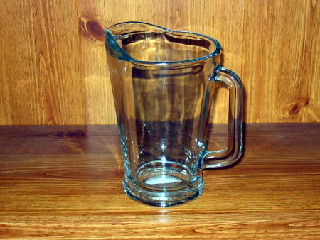 WATER PITCHER - GLASS