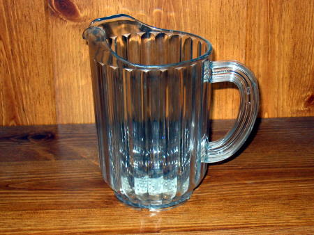 WATER PITCHER - PLASTIC