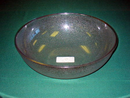 SALAD BOWL - PEBBLE PLASTIC 18in