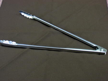 TONGS - LARGE METAL 16in