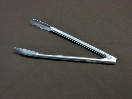 TONGS - MEDIUM METAL 12in