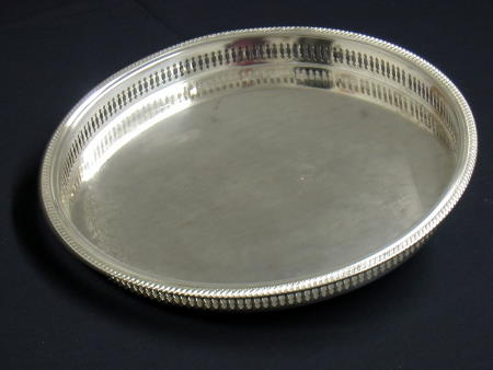 SILVER TRAY - GALLEY 12in OR 15in