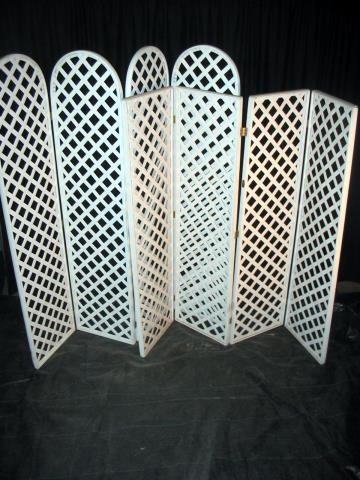 LATTICE DIVIDER - ROUND OR FLAT TOP