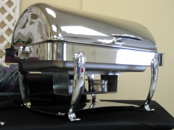 8 QT. ROLL TOP CHAFER